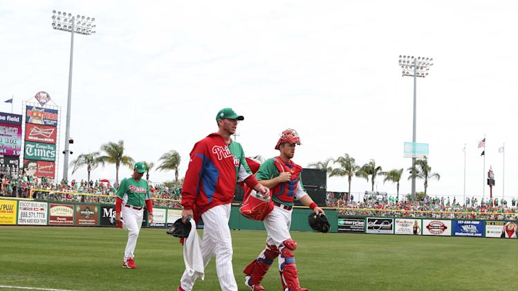 MLB: Spring Training-Baltimore Orioles at Philadelphia Phillies