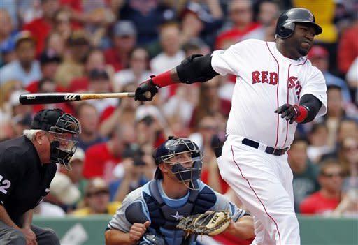 Ortiz keeps hitting, Red Sox beat Rays again 6-4