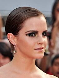 Emma Watson attends the premiere of 'Harry Potter and the Deathly Hallows: Part 2' on July 11, 2011 in New York City -- Getty Images