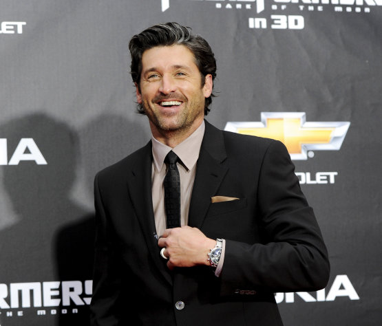 FILE - In this June 28, 2011 file photo, actor Patrick Dempsey attends the &quot;Transformers: Dark Of The Moon&#39;&quot; premiere in Times Square in New York. Late Thursday night Jan. 3, 2013, Dempsey announced that his company, Global Baristas LLC, made the winning bid for Tully&#39;s Coffee. (AP Photo/Evan Agostini, File)
