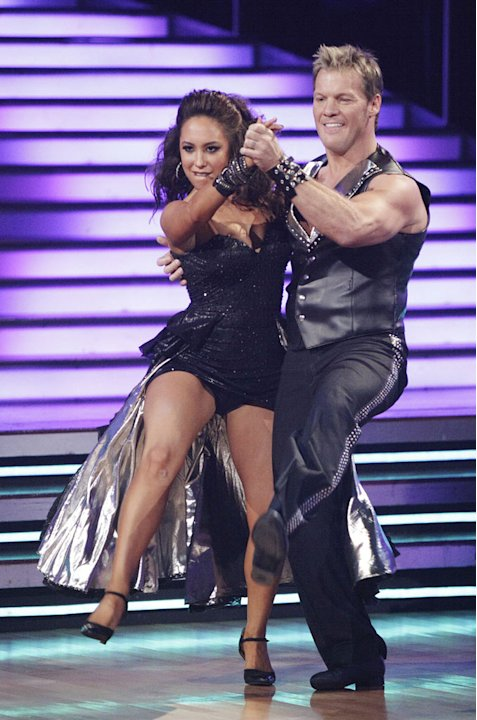 Chris Jericho and Cheryl Burke perform on &quot;Dancing with the Stars.&quot; 