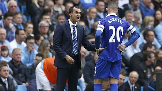 Roberto Martinez Ross Barkley (Reuters)