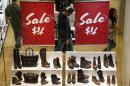 US retail sales down 0.4 percent in January