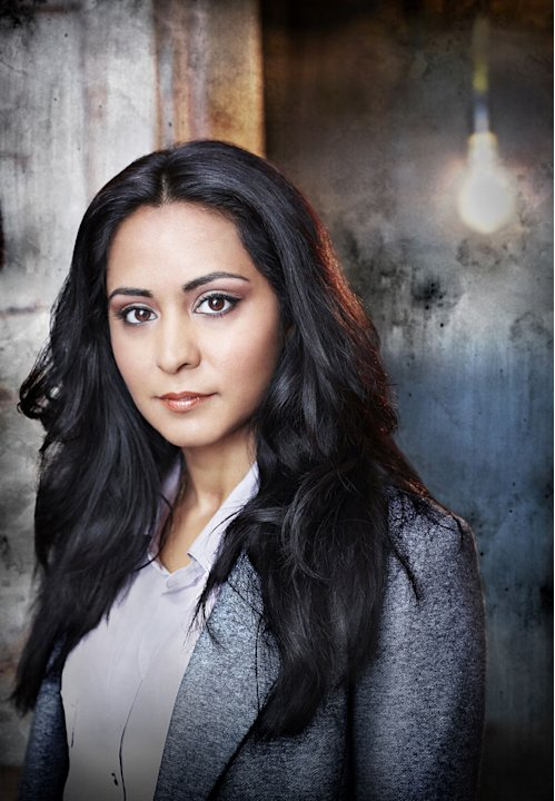"Parminder Nagra stars as Lucy Banerjee in ""Alcatraz."""