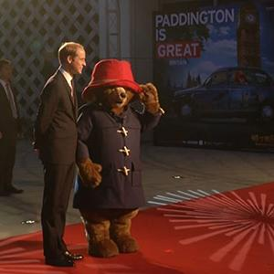 Raw: Prince Williams Sees 'Paddington' in China