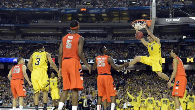 NCAA Basketball: NCAA Tournament-Michigan vs Syracuse