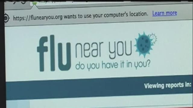 Apps for tracking flu