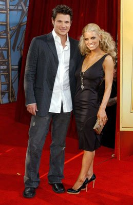 Nick Lachey and Jessica Simpson MTV Movie Awards 2005 - Arrivals Los Angeles, CA - 6/4/05