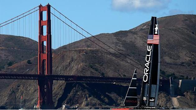 Sailing - Oracle sailors learned flying for America's Cup comeback