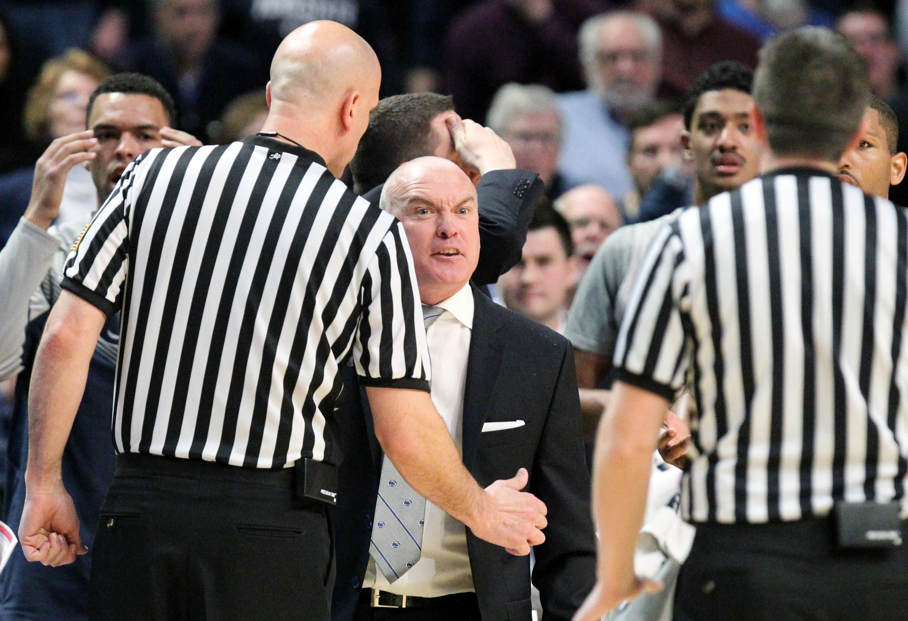 Star-crossed Penn State is the victim of a bafflingly bad foul call