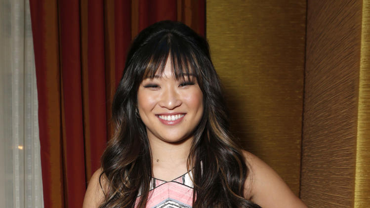 Jenna Ushkowitz attends the Fox Winter TCA All Star Party at the Langham Huntington Hotel on Tuesday, Jan. 8, 2013, in Pasadena, Calif. (Photo by Todd Williamson/Invision/AP)
