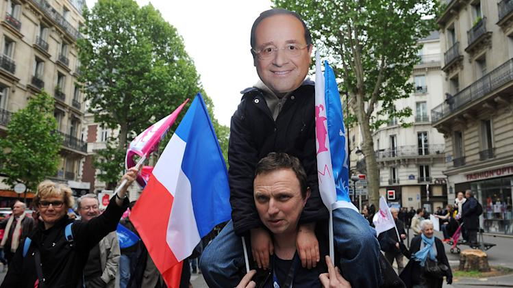 Anti-Gay Marriage Demonstration On French Mother's Day In Paris