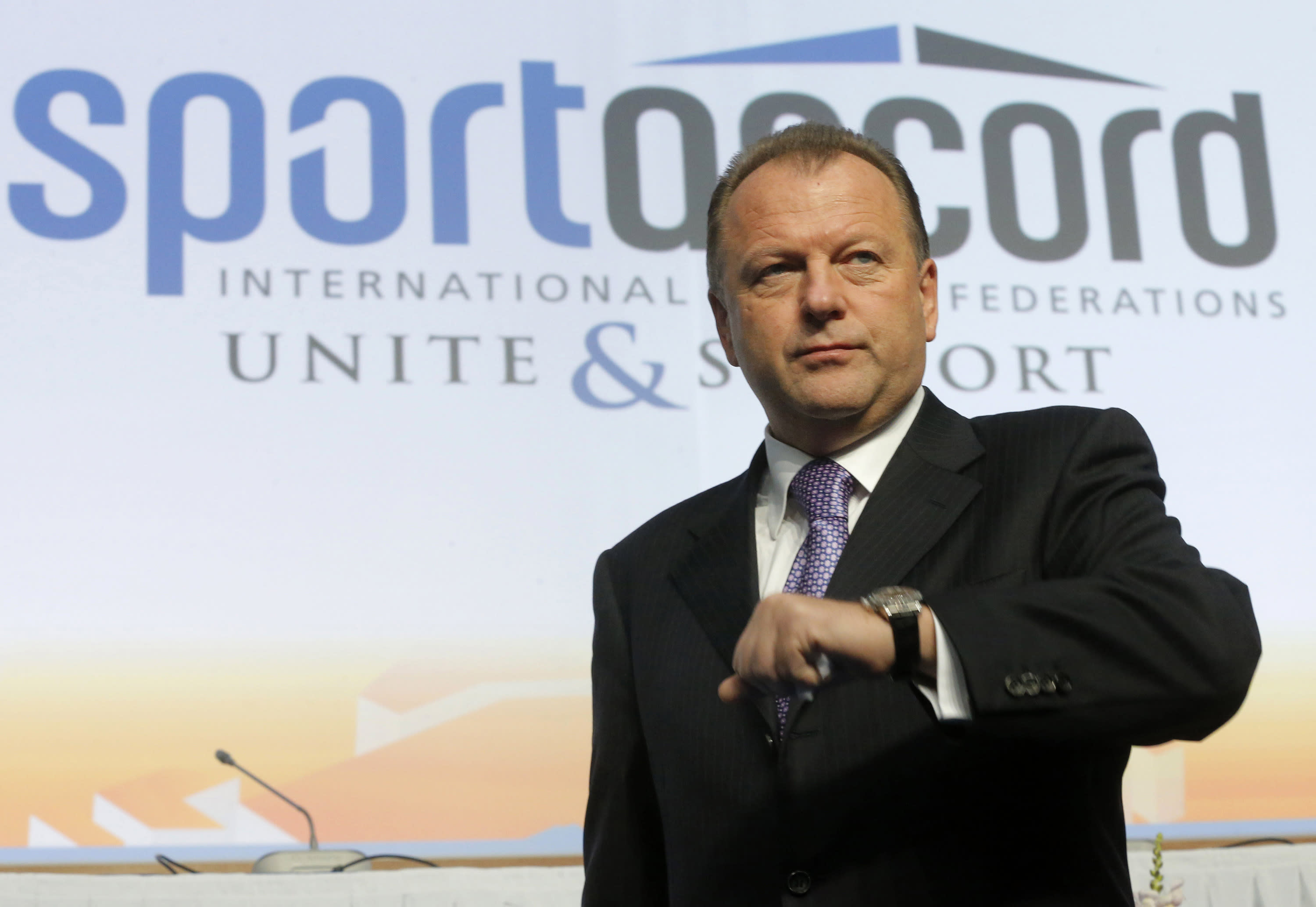 SportAccord's Vizer issues 20-point plan for talks with IOC