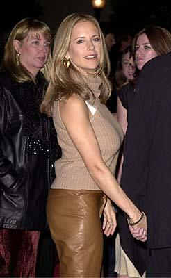 Kelly Preston at the Hollywood premiere of Paramount's Lucky Numbers