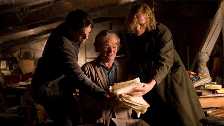 Brendan Fraser Jim Broadbent Paul Bettany Inkheart Production Stills New Line 2009