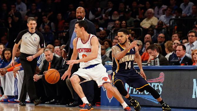 NBA: Playoffs-Indiana Pacers at New York Knicks