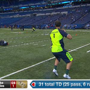 2014 Combine workout: Blake Bortles