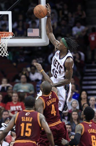 Green, Morrow lead Nets past Cavaliers in OT