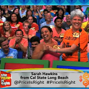The Price is Right - Sarah from Cal State Long Beach