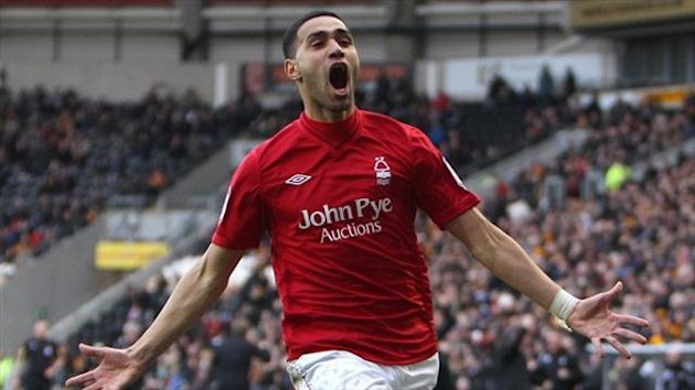 Lewis McGugan was out of contract at Nottingham Forest
