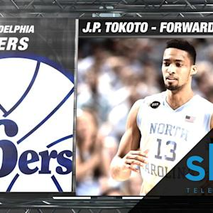 76ers Select North Carolina's J.P. Tokoto | NBA Draft Hype Video