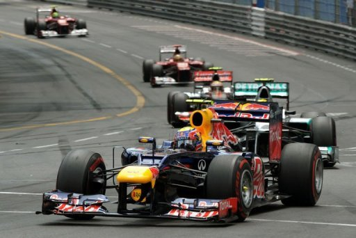 Der Australier Mark Webber gewann wie schon 2010 in seinem Red Bull den Groen Preis von Monaco und ist damit der sechste Sieger im sechsten Saisonlauf