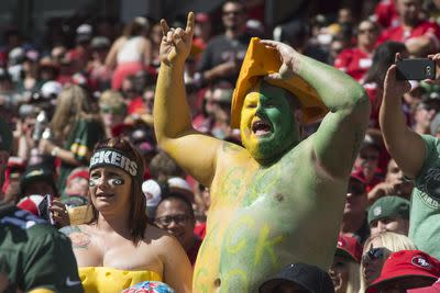 Packers fans make the 49ers' stadium sound like Lambeau Field with 'Go Pack, Go!' chant