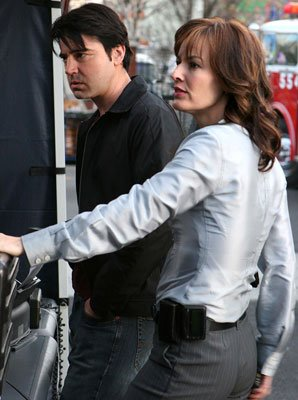 "Ron Livingston and Rosemarie DeWitt FOX's ""Standoff"" Standoff"
