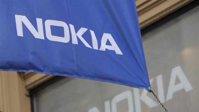 The flagship store of Finnish mobile phone manufacturer Nokia is pictured in Helsinki