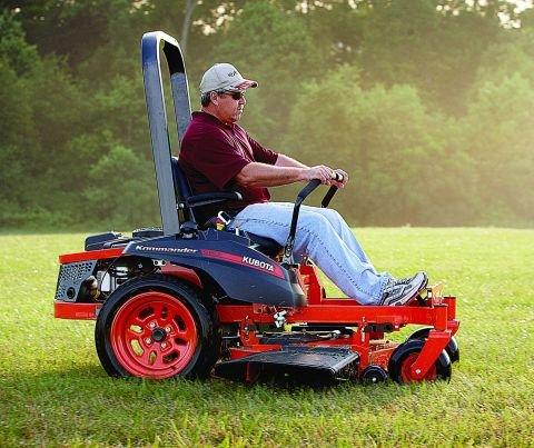 "The ""Kubota Kommander"" ZG100-Series, Kubota's First Residential Zero-Turn Mower, Now Available"