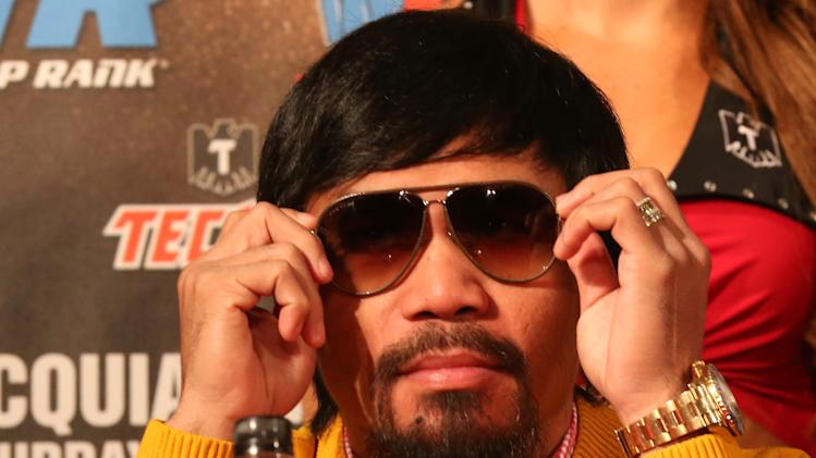 Manny Pacquiao v Brandon Rios Press Conference