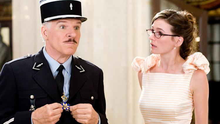 Steve Martin Emily Mortimer The Pink Panther 2 Production Stills Sony 2009