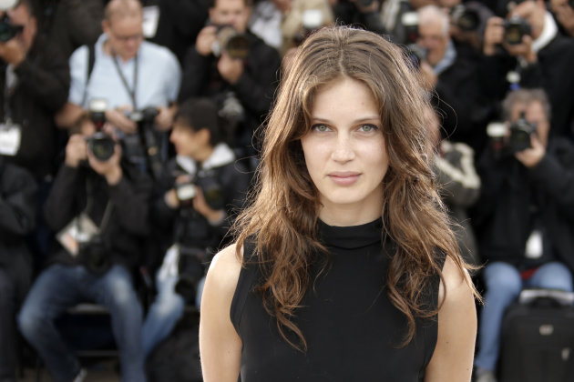File - In this May 16, 2013 file photo, actress Marine Vacth poses for photographers during a photo call for the film Young & Beautiful at the 66th international film festival, in Cannes, southern Fra
