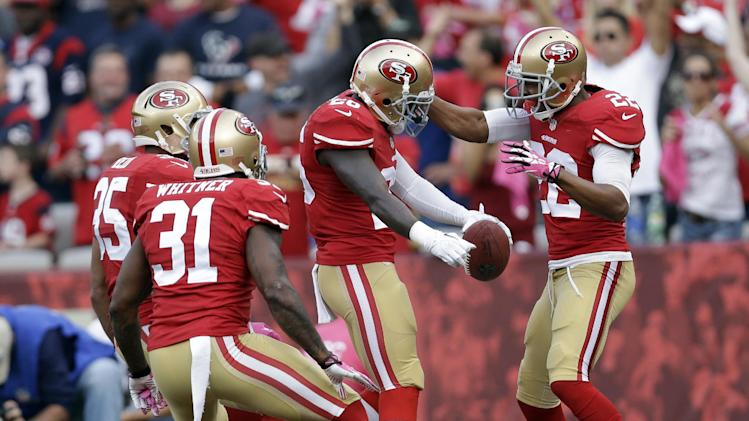 5 things to know as Niners top Schaub, Texans 34-3