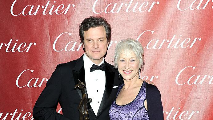 22nd Annual Palm Springs Film Festival 2011 Colin Firth Helen Mirren