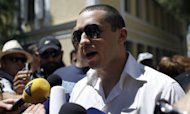 Greek MP Sues The Female Rivals He Attacked