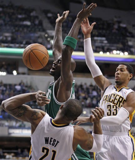 Granger leads Pacers past Celtics