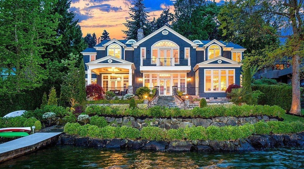 Last Week's Biggest Sales: Mercer Island Waterfront Mansion Sold For $5.6M