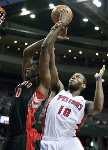 Gordon helps Pistons pull out victory over Raptors