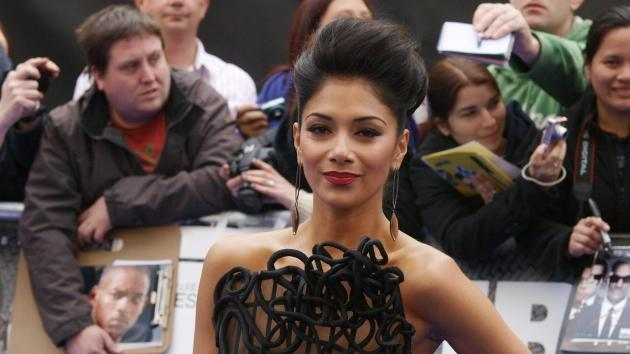 Nicole Scherzinger attends the UK premiere of 'Men in Black III,' Leicester Square, London, May 16, 2012 -- AFP