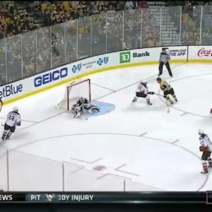 Frederik Andersen Save on Loui Eriksson (01:11/2nd)