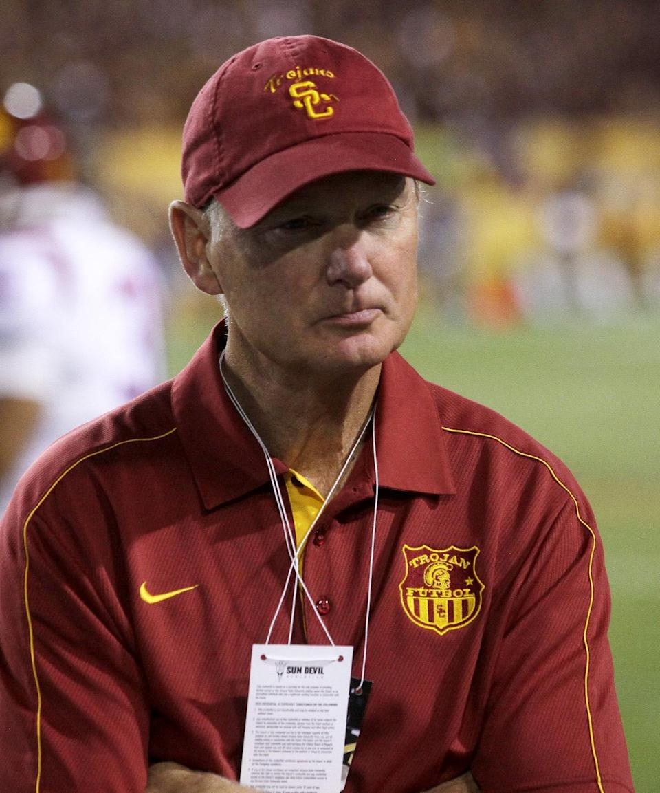 USC: Impersonators making calls about coaching job