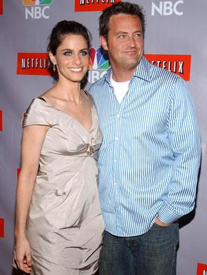 Amanda Peet and Matthew Perry NBC Summer 2006 TCA Party Pasadena, CA - 7/22/2006