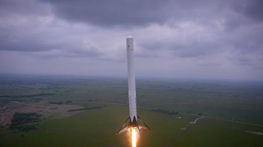 SpaceX Reusable Rocket Prototype Explodes Over Texas