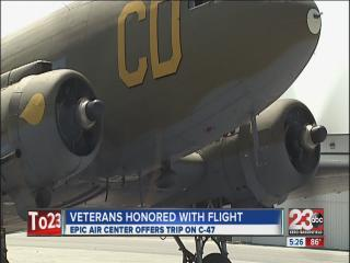Area Veterans Honored With Special Flight