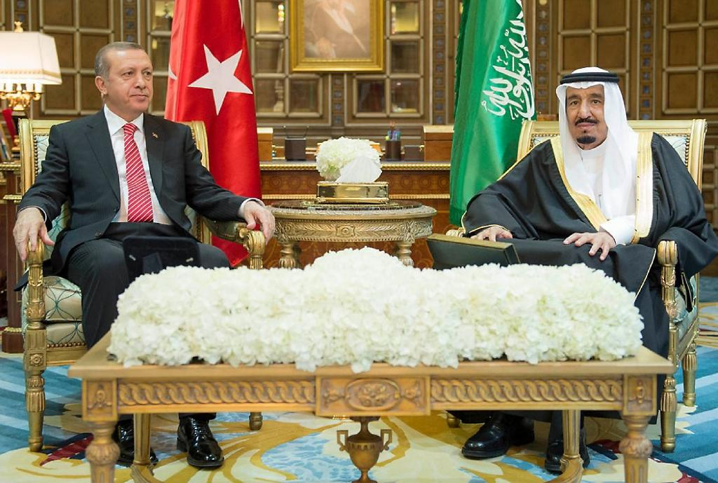 Turkey's Erdogan in Riyadh as Saudi seeks 'Sunni unity'