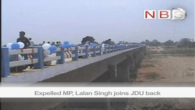 Expelled MP, Lalan Singh joins JDU back