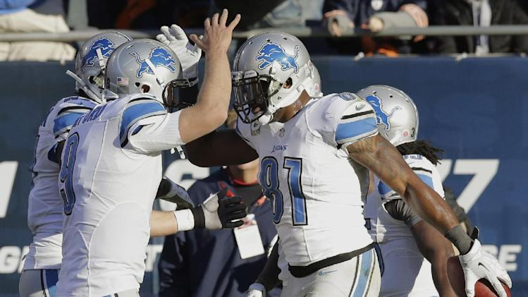 Lions beat Bears 21-19 in key NFC North matchup