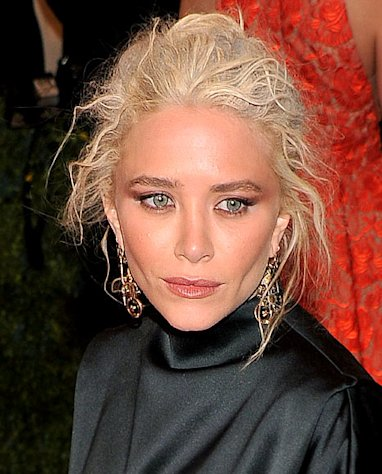 "Mary-Kate Olsen attends the ""Schiaparelli And Prada: Impossible Conversations"" Costume Institute Gala at the Metropolitan Museum of Art on May 7, 2012"