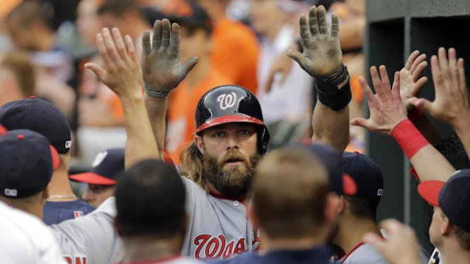 Nationals hit 3 HRs in 6-2 win over Orioles
